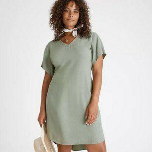 Anthro Cloth & Stone Liv Tie-Front Mini Dress NWT